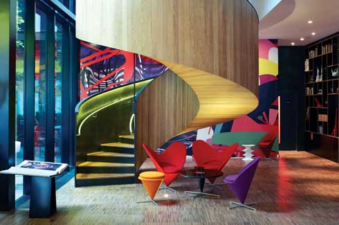Pop goes the hotel for Modern hotels in london