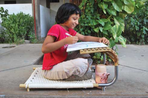 Chokdi The Chokdi can be comfortably used as study table.