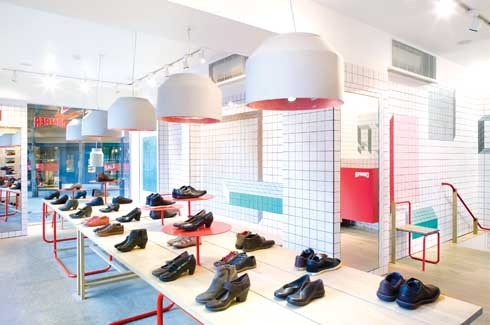 Camper Store In London