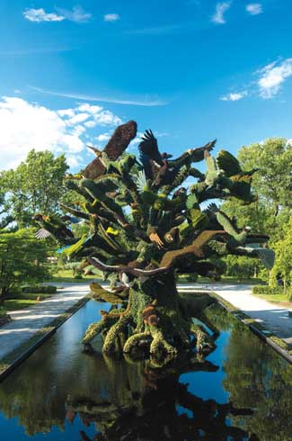 The Bird Tree sculpture