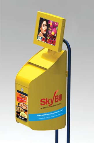 Skybill Drop Box The drop box has reduced the collection time per box  significantly with its layout to stack the dropped cheques