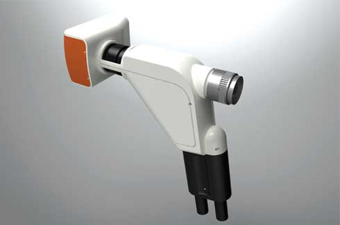 Digital ophthalmoscope The design proposes to simplify the existing design of the instrument
