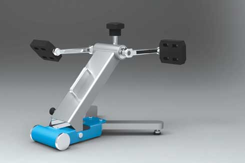 Exercyse Exercyse is a portable, folding exercise equipment