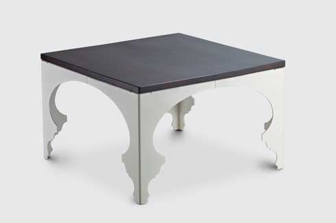4pie 4 pie is a table which uses laser cutting to etch traditional forms