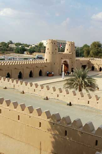 Mud Fort Restoration Work In Al Ain-UAE