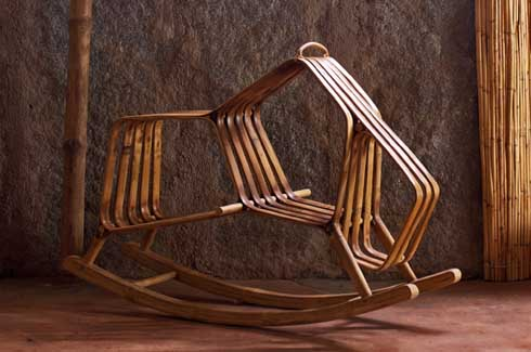 The Bull-Rocking Chair for children.