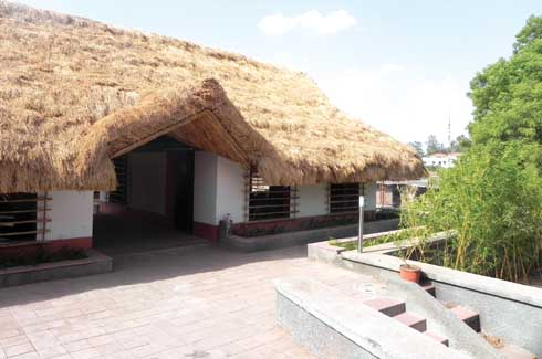 These thick thatch roofs are lightweight and easily installed. Though they have a life span of 15 -20 years, they need maintenance every 5 years along the ridges, as they are made out of biodegradable materials.