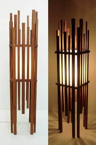 Mikado The Mikado floor lamp creates a soothing pleasant interior experience with its interplay of light and shade