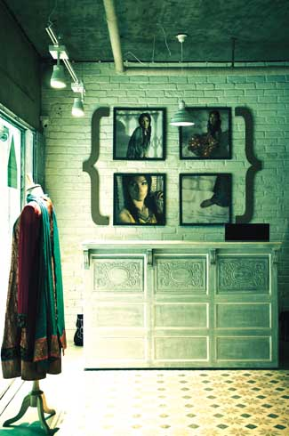 The store's imagery keeps one guessing about the provenance of the label. Though the name Priyadarshini Rao is a giveaway, the styles could have originated from any part of the world.