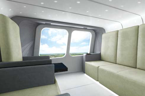 Helicopter Interior Design