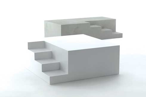 The Mezzanino Coffee Table