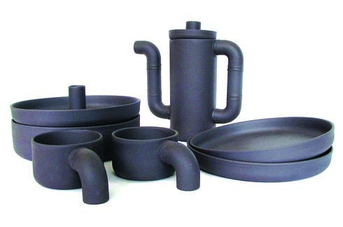 Black Gold Coffee Set