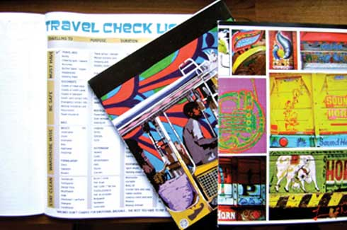 Travel Checklist A systematic organiser for everything you need to take while travelling