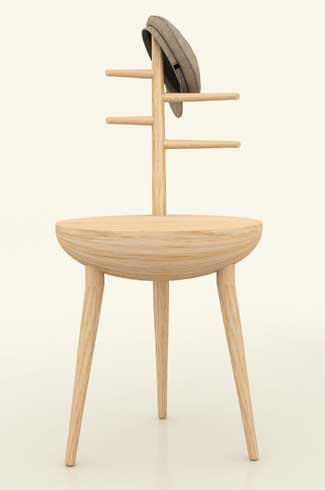 Iktar A part of the Dhun collection Iktar can be used as a chair and also a stool