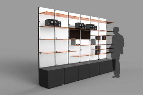 Pragya Chajjer, MIT Institute of Design, Retail and Exhibition Design, LED light cables, Flex, Shelving system for Knoware, Shoe, Redesign for Brand Noritake, Rubber