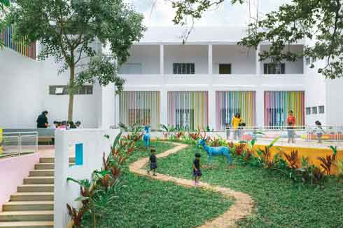 CollectiveProject, Cyrus Patell, Eliza Higgins, Ekya Early Years, The Hudson Exchange Plan, Garden Folly