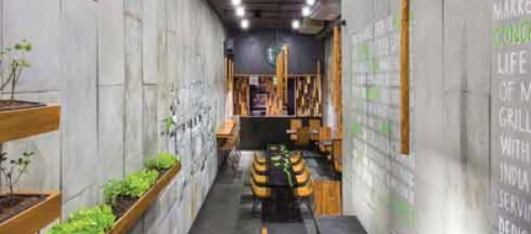 Concrete Meets Greenery, Arch.Lab., Chandigarh, AJAX Mohit, Ankita Thakur, urban food