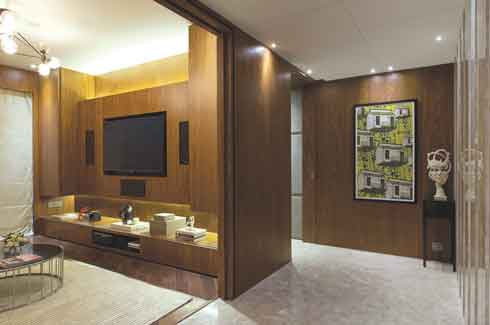 dnD studio LLP, Atelier dnD, Anand Menon, Shobhan Kothari, Kiran Kapadia, Architect, three-bedroom apartment