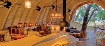Kalahari, Sandibe Okavango Safari Lodge, Botswana , andBeyond, Nicholas Plewman Architects, Michaelis Boyd Associates, Fox Browne Creative.