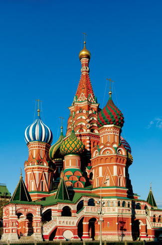 Moscow, Russia, Sleepbox Hotel, St. Basil's Cathedral, Gum, Godunov.