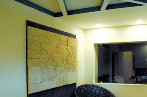 Eartheque, Chennai, Shilpa Darshan Kumar, natural stone products, handcrafted wash basins, wall cladding.