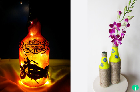 Baatli Co, Ritika Varshney, upcycling, discarded alcohol bottles.