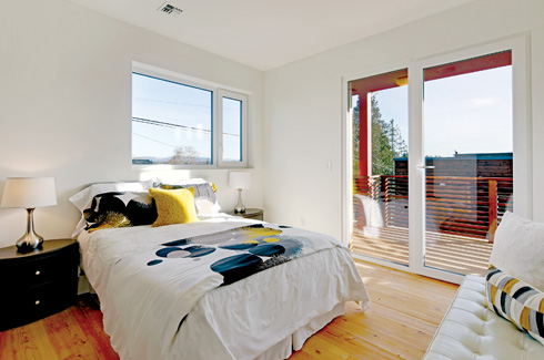 Dwell Development LLC, Cork Haus, Seattle, cork, Passive House, net-zero home.