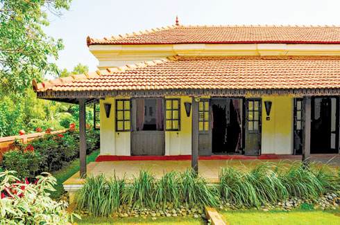 Poonam Verma Mascarenhas, Archinova Environs, 100-year-old villa, Goa, traditional building techniques.