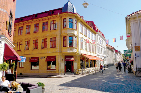 Gothenburg, Avalon Hotel, Kafe Megasinet, Haga, Kuggen, Gert Wingårdh.