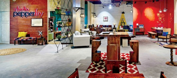 Studio Pepperfry, www.pepperfry.com, The Orange Lane, Gurgaon.