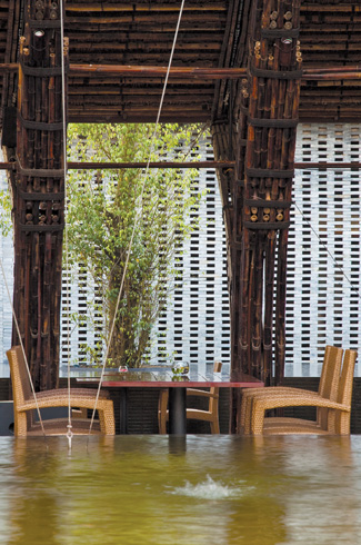 Vo Trong Nghia Architects, Vietnam, Flamingo Dailai Resort, bamboo, natural building materials, eco-friendly design.