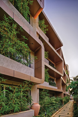 Regenerative architecture, King's House, Bangalore, The Purple Ink Studio, Akshay Heranjal, vertical gardens, McD BERL.