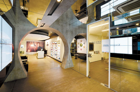 Professional Products Development Academy for L'Oréal, Mumbai, L'Oréal, DCA Architects, sustainable design, Parametric planning.