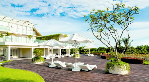Sheraton Bali Kuta Resort, Bali, Beachwalk shopping mall, Balinese design, Bene.