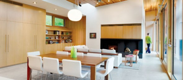 +House, Mulmur, Ontario, Canada, Andre D'Elia, Superkul Architects, Cedar boards, green project, sustainable living.