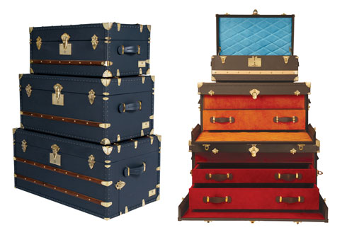 Trunks Company, Jaipur, Priyank and Paritosh Mehta, Livio Delegues, French design, handcrafted trunks.