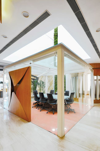 Spaces Architects, Spaces Architects@ka, Express Builders' office, Kapil Aggarwal, free flowing spaces.