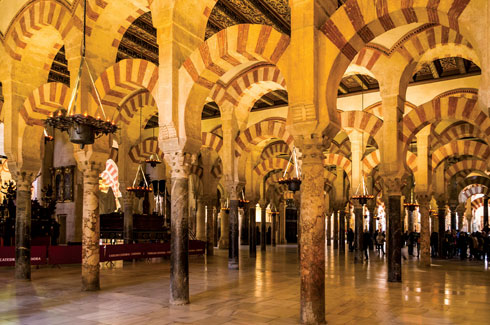 Cordoba, Andalusia, Spain, Hospes Palicio del Bailios, Design Hotels, Islamic architecture, Cordoba's mosque, Noor, Contemporary Arts Center's building.