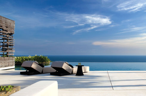 Alila Villas Uluwatu, Bali, architectural firm, WOHA Architects, modern decor.