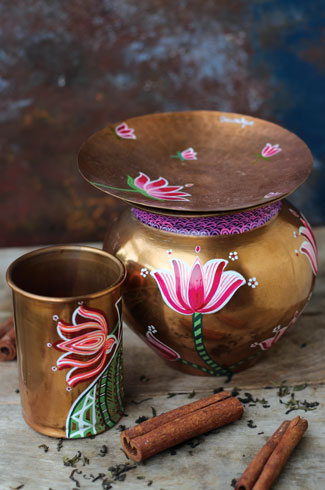 Indian utensils, Surkhi Matharu, Malika Budhiraj, Baarique, Pooja Dhingra.