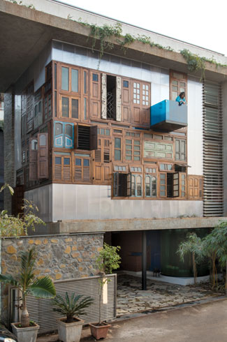 S+PS Architects, Indian Architecture, Collage House, Shilpa Gore-Shah, Pinkish Shah.