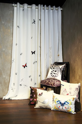 Kanchi Designs, Shobhna and Kunal Mehta, décor, brick wall, handcrafted designs, bed décor bed décor bed décor.