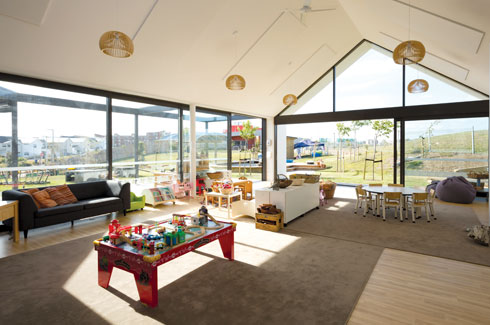 Collingridge and Smith Architects, Auckland, Hobsonville Point Early Learning Centre, Hobsonville Village.