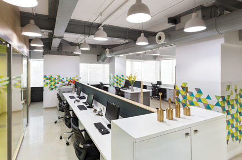 Studio Osmosis, Shilpa Jain Balvally, Sameer Balvally, Pizza Express, Ambuja Intermediates Office, Seaside Studio Apartment.