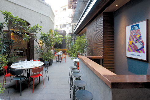 DCOOP Architects, Gustoso, Quaid Doongerwala, Kemps Corner, Mumbai.