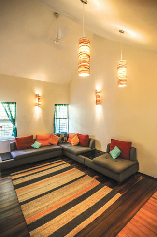 De Earth, Vivek P, Nishan M, Geoffrey Bawa, eco-friendly residential space.