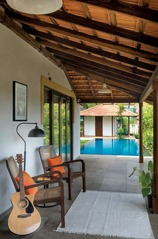 Assagao, Goa, Raya Shankhwalker Architects, Luxury Villa.