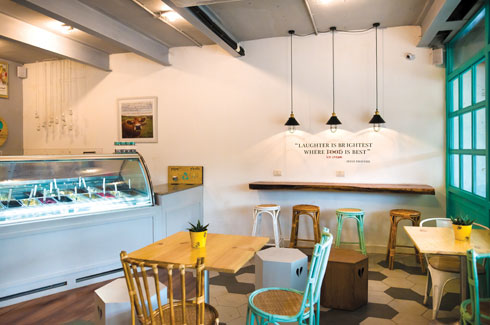 Hyderabad, Sona Reddy Studio, Haiku, Store Anonym, Ice Creamery.