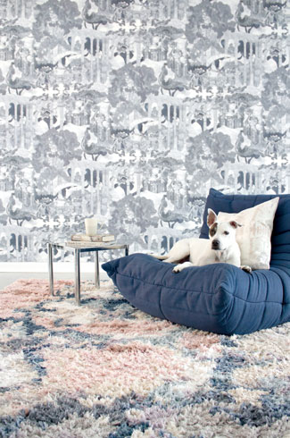 Eskayel Wallpaper, durable, strippable, eco-sense, VOC.