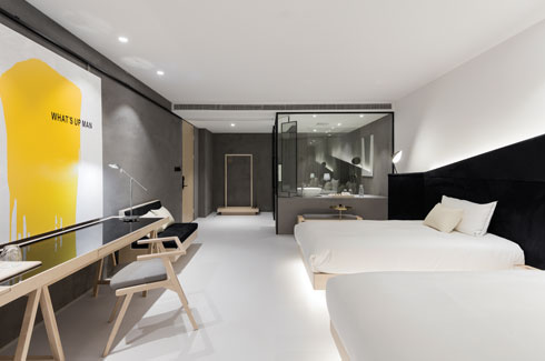 Wheat Youth Art Hotel, Shanghai, X+Living, Li Xiang, Mai Jian.